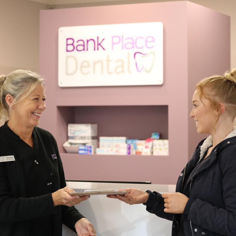 Patient Info Bank Place Dental